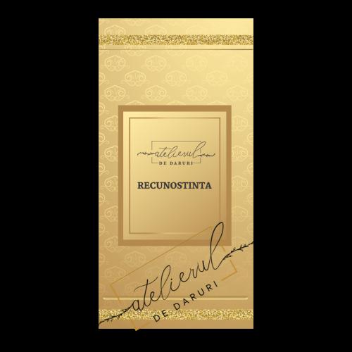 "GIFT CARD ""RECUNOSTINTA"""